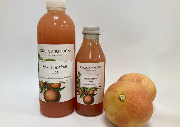 Pink Grapefruit Juice - New!