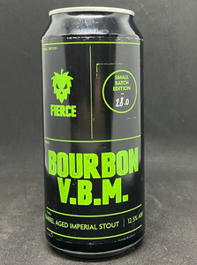 Fierce Beer Bourbon Aged VBM, 12.5% 400ml