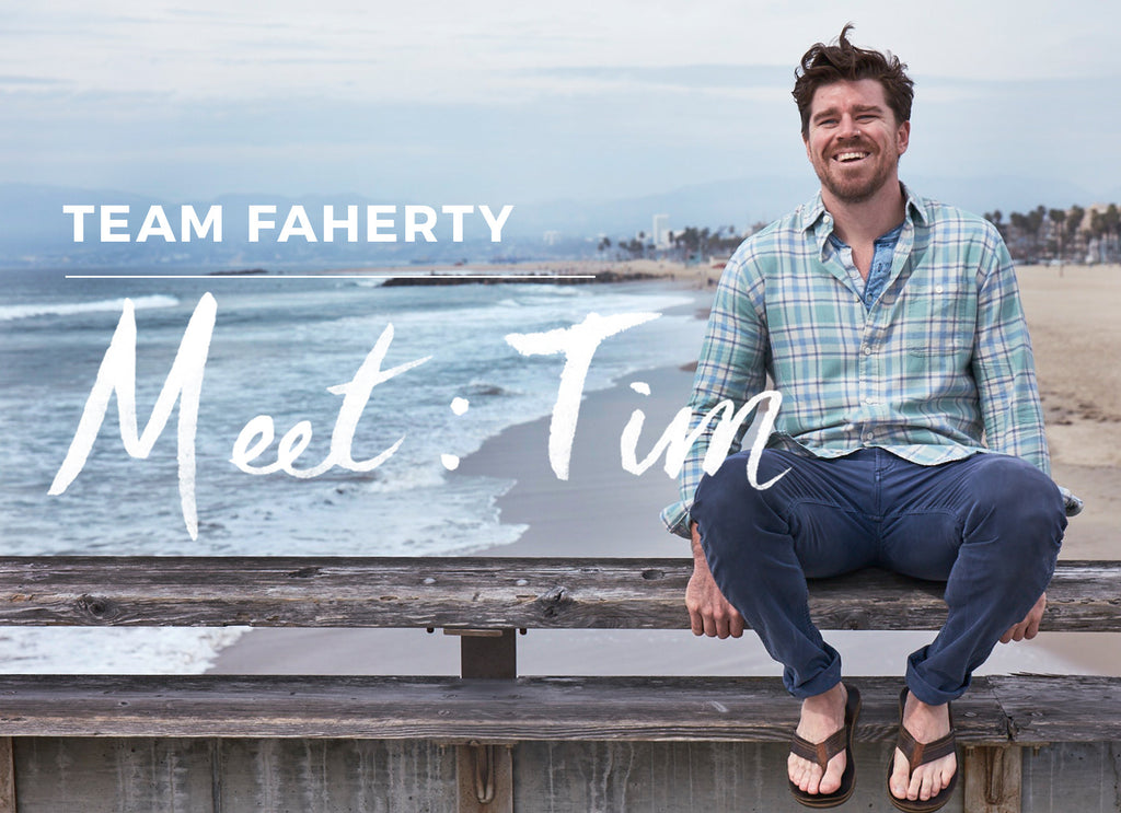 Team Faherty: Meet Tim