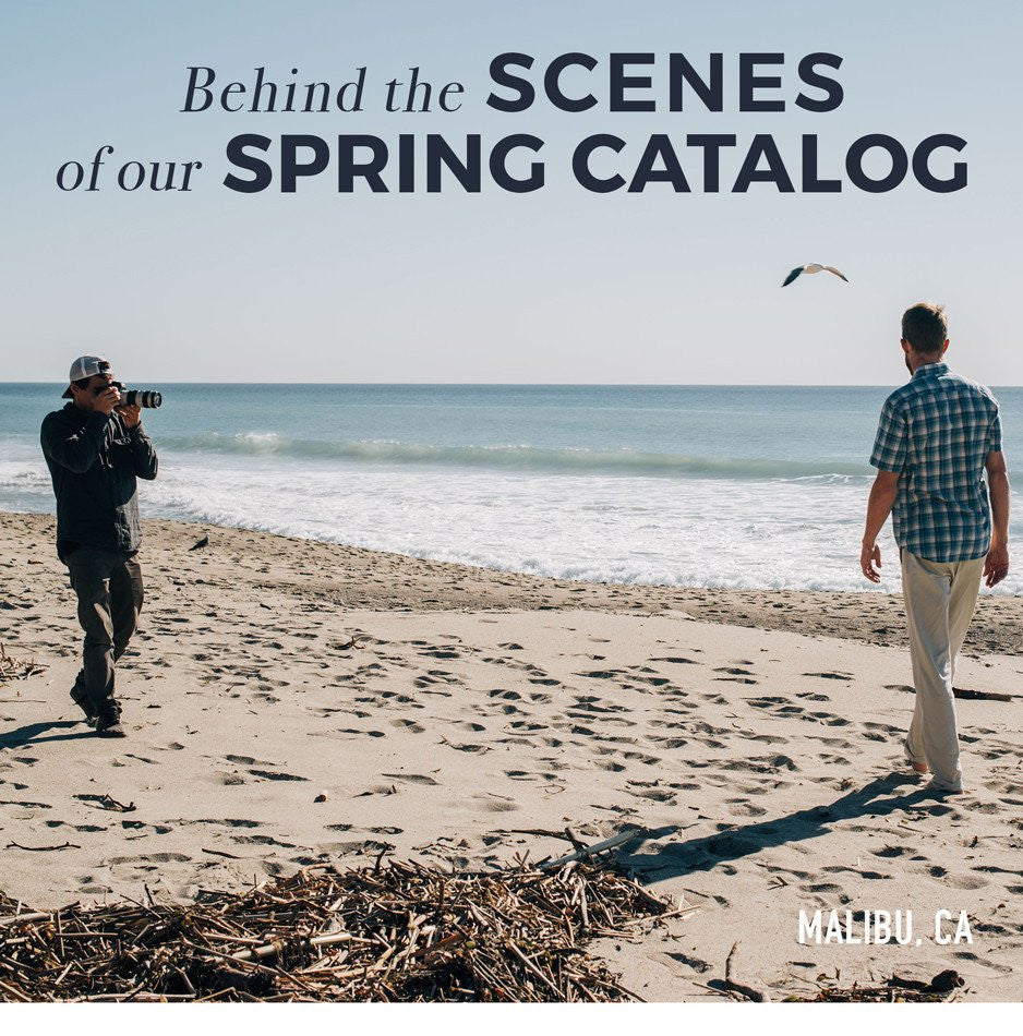 Behind the Scenes of our Spring Catalog