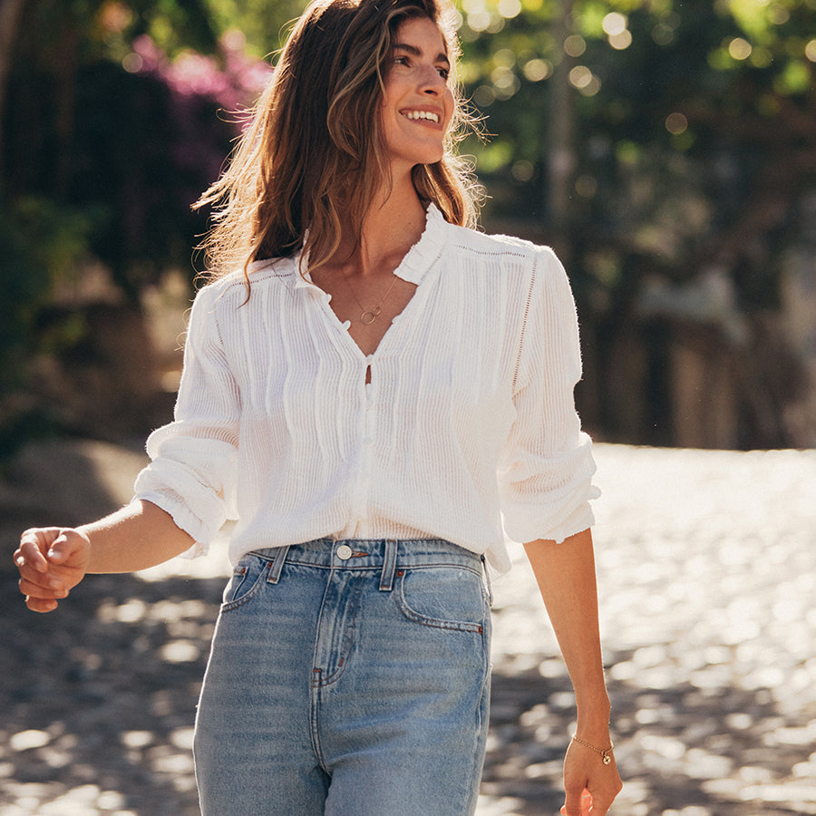 Behind the Seams: The Willa Top
