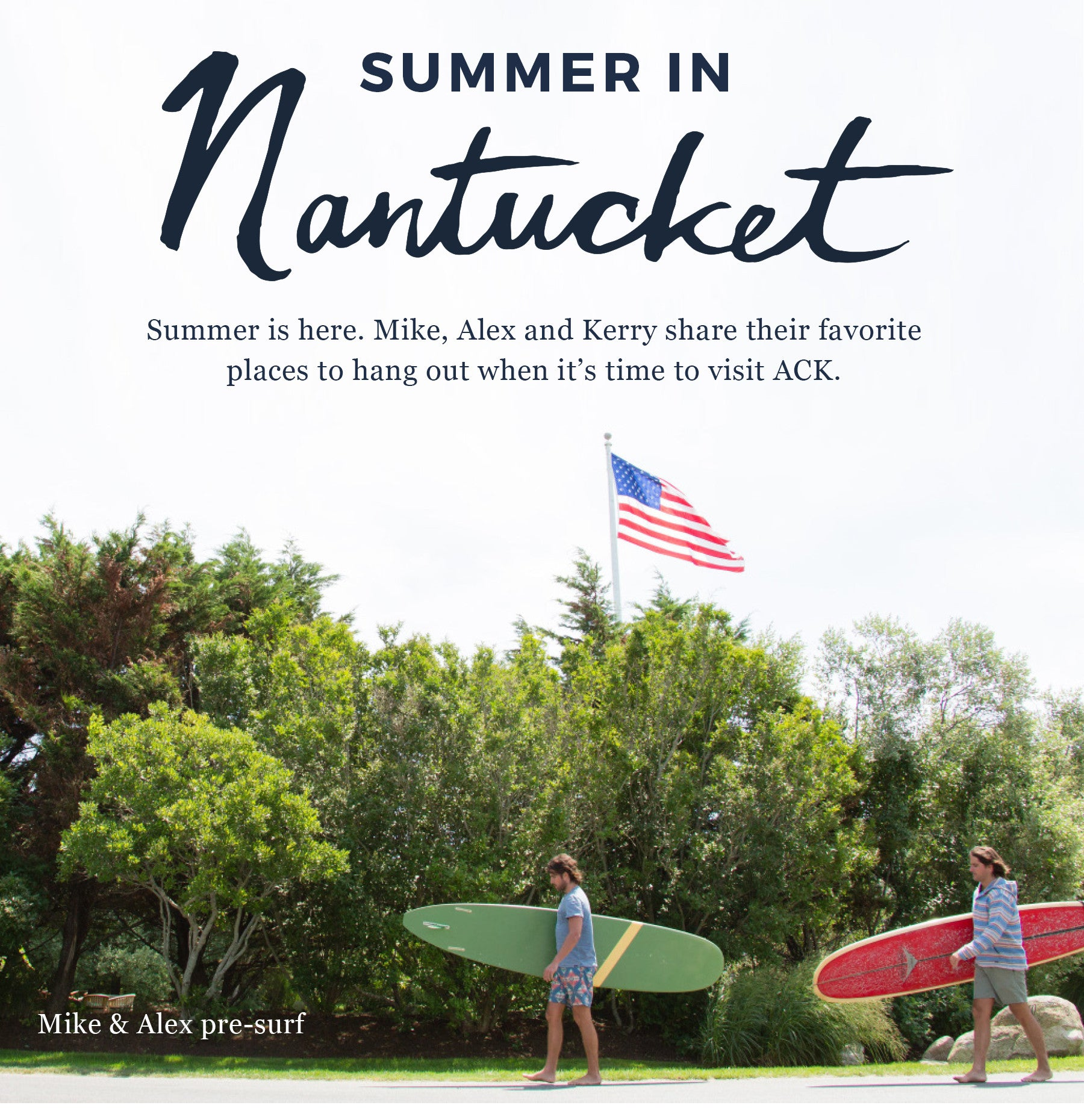 Nothing feels better than getting on that flight to Nantucket after a crazy  and humid week in NYC. ACK has become my happy place--Surfing at dawn at  Cisco ... 4a909cda7cf4