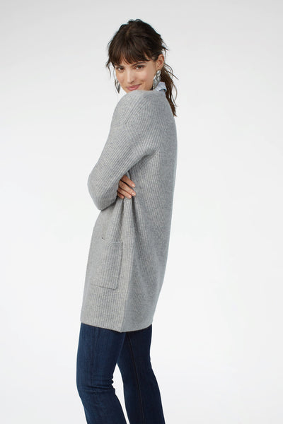 Lumi Cardigan - Heather Grey