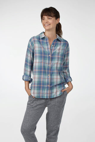 Reversible Belmar Shirt - Late Summer Plaid