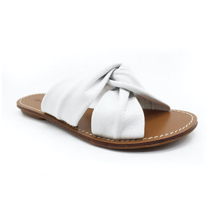 Soludos Clara Beach Slide - White