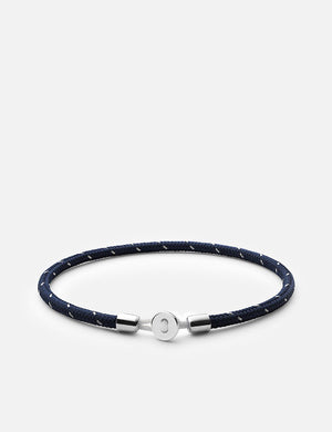 Miansai Nexus Rope Bracelet - Navy Steel