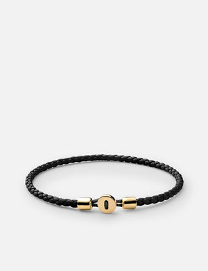 Miansai Nexus Leather Bracelet - Black