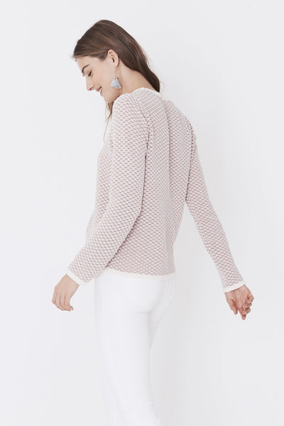 Chesapeake Sweater - Primrose Fishscale