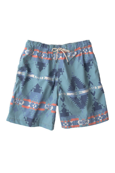 Beacon Trunk - Native Lenape Teal