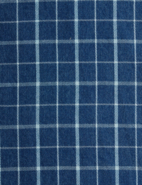 Pacific Shirt - Indigo Blue Plaid