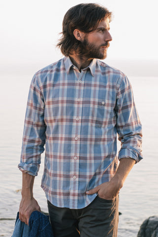 Organic Cotton Field Shirt - Early Harvest Plaid