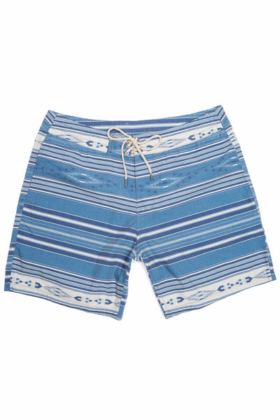 Classic Boardshort (7 Inch Inseam) - Hobi Tribal Blue