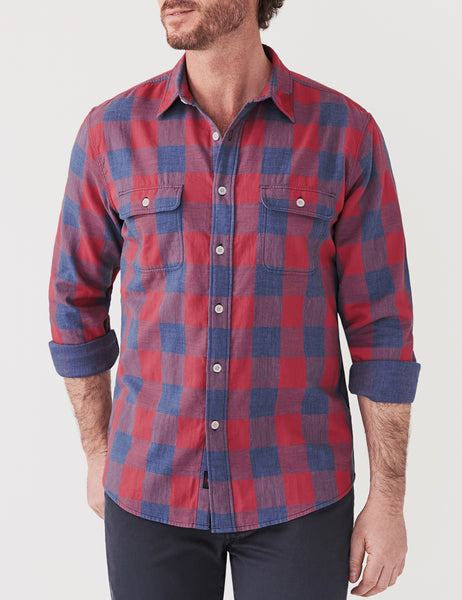 Belmar Shirt - Rose Buffalo Check
