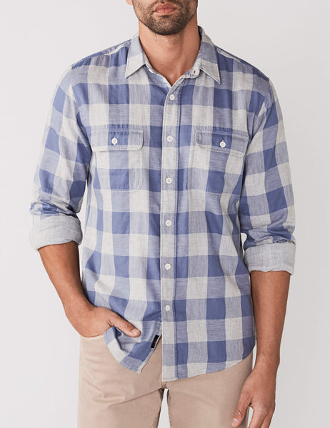 Belmar Shirt - Grey Buffalo Check