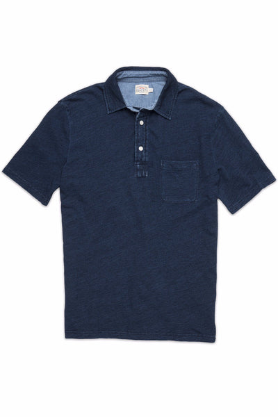Indigo Polo - Dark Wash Indigo