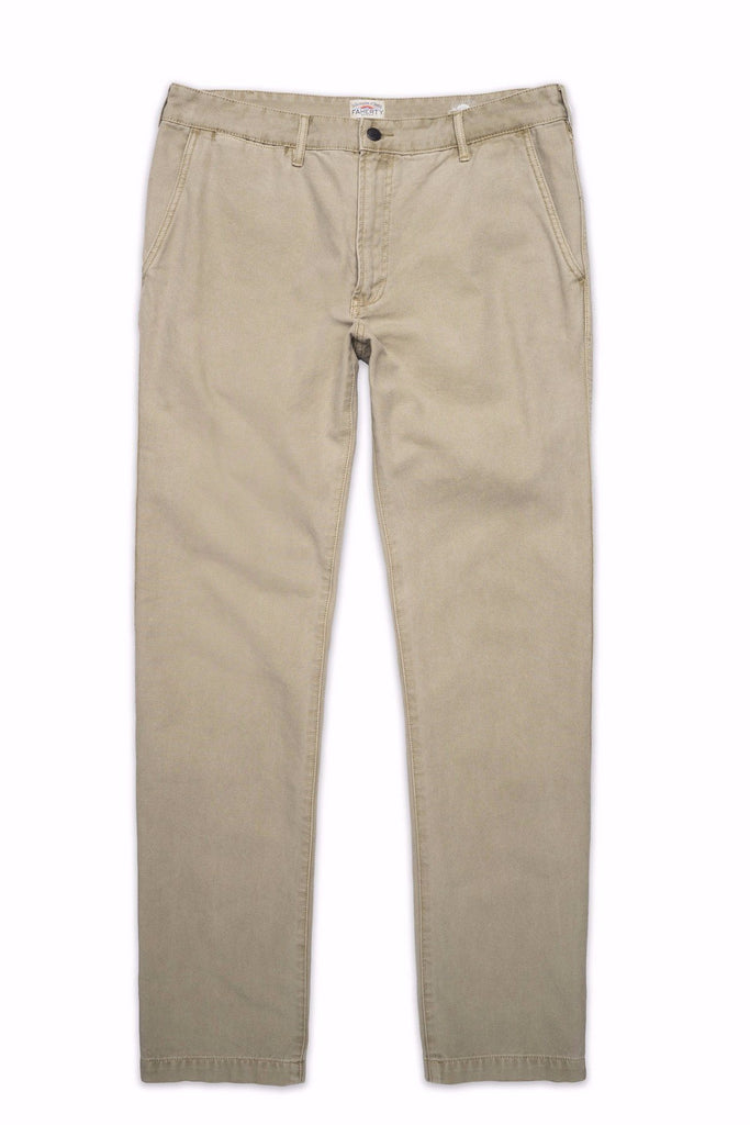 Canvas Jean - Dusty Khaki
