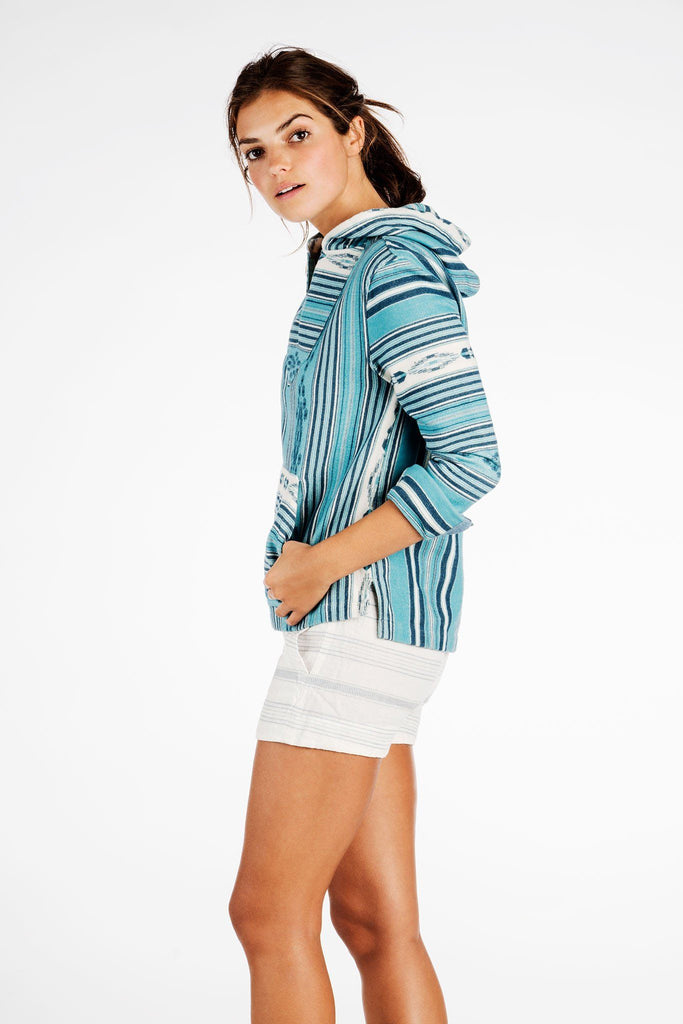 Honolua Short - Linen Stripe
