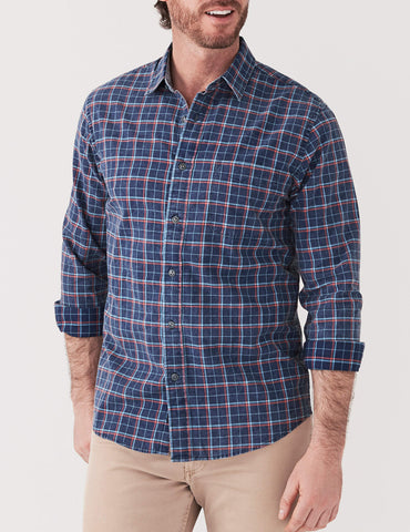 Ventura Shirt - Dark Indigo Multi