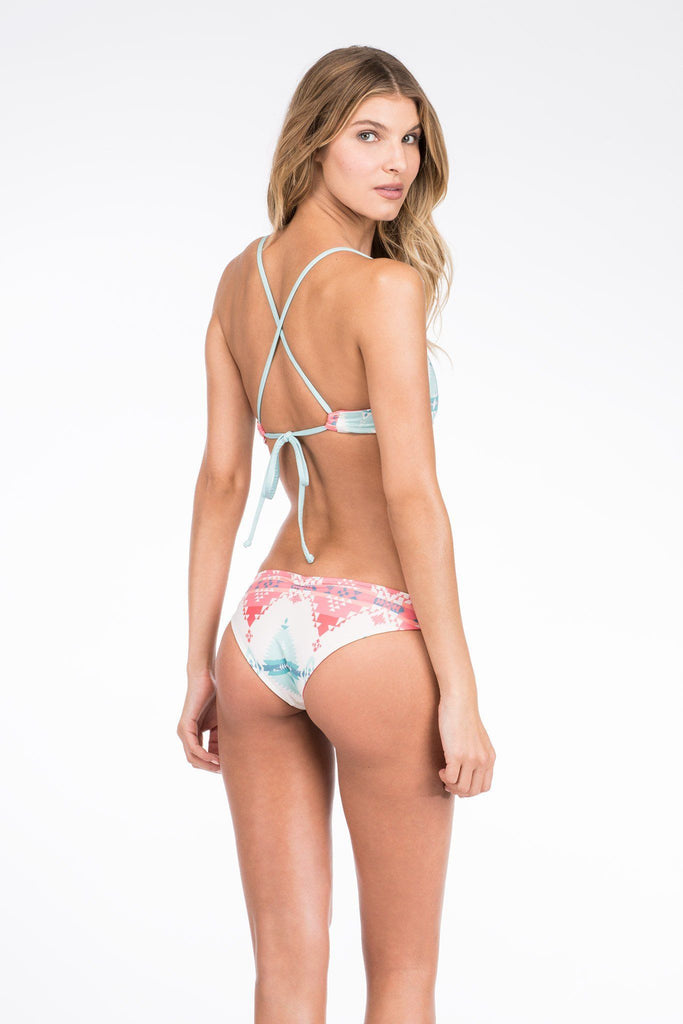 Bali Reversible Bottom - Kiawanda/Coral