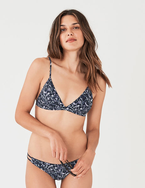 Capri Top - In Bloom Navy