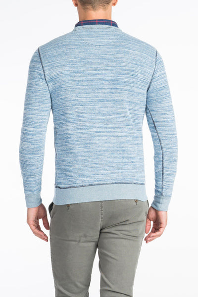 Ocean Crewneck Sweater - Mixed Indigo