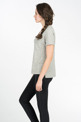 Blakely Pocket Tee - Heather Grey