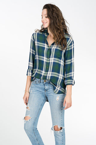 Newport Shirt - Hunter Green Plaid