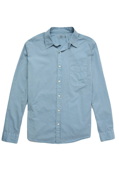 Garment Dyed Ventura Shirt  - Bay Blue