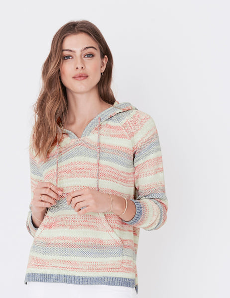 Key Largo Sweater Poncho - Ombre Serape