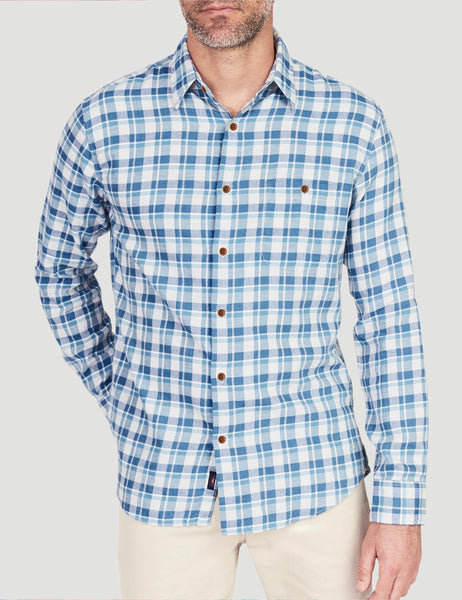 Coast Shirt - Blue Grey Heather