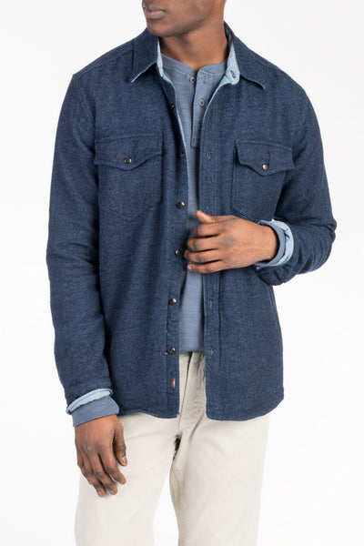 CPO Workshirt - Indigo Heather