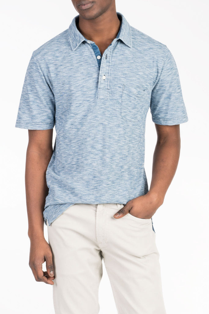Indigo Polo  - Mixed Indigo