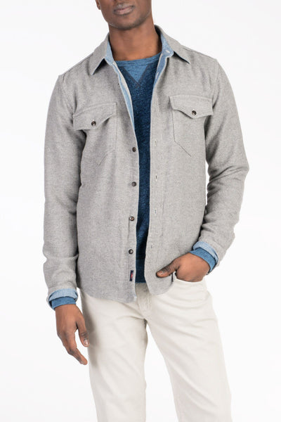 CPO Workshirt - Grey Heather