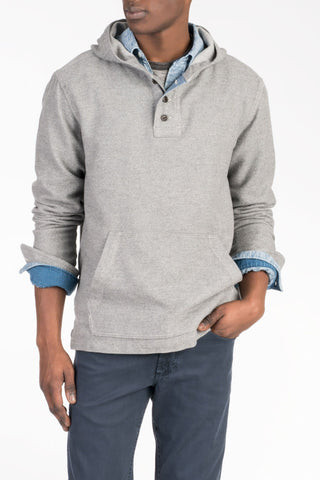 Pacific Poncho - Grey Heather