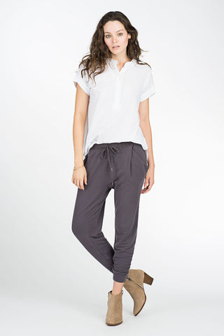 Coastal Pant - Washed Black