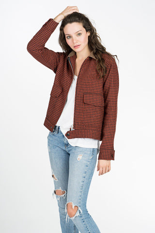 Explorer Jacket - Red Check