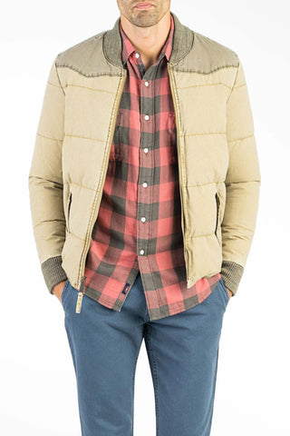 Western Jacket - Light Khaki/Ghurka