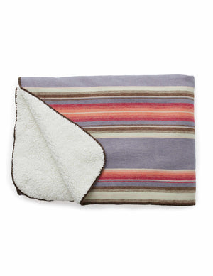 Sherpa Blanket - Twilight Serape
