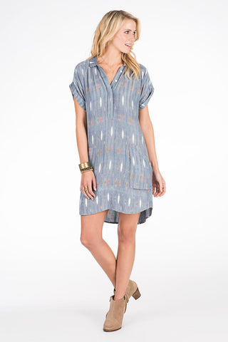 Sea Spray Dress - Ikat