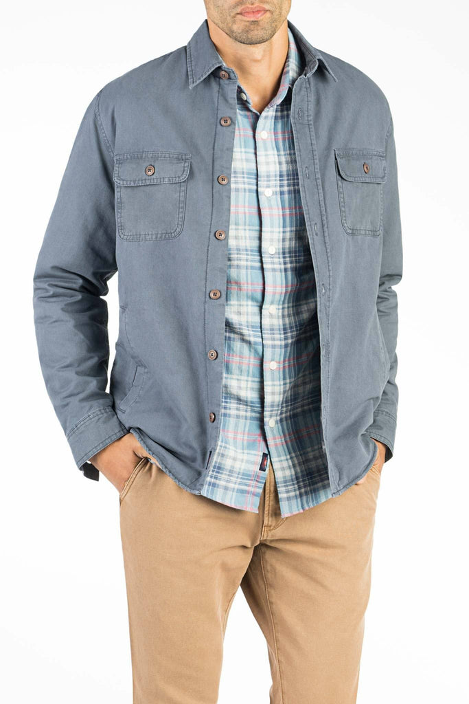 Blanket Lined CPO Jacket - Faded Navy