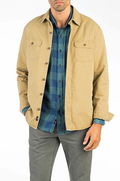 Blanket Lined CPO Jacket - Rugged Khaki