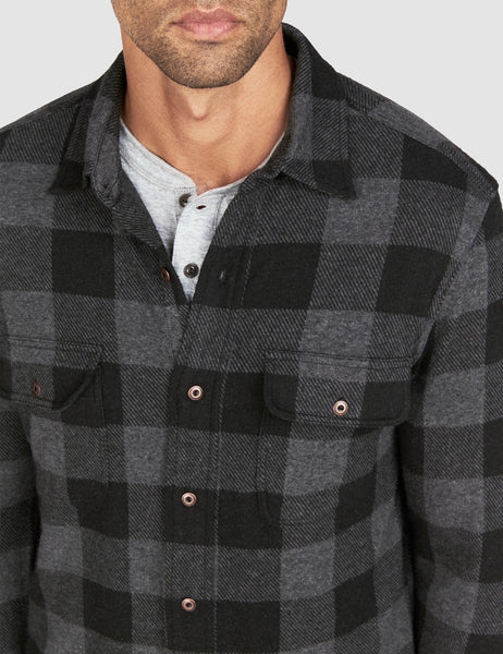 Buffalo Belmar Sweater - Charcoal Black Buffalo