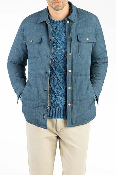 Water Resistant Ridgway Down Jacket  - Navy