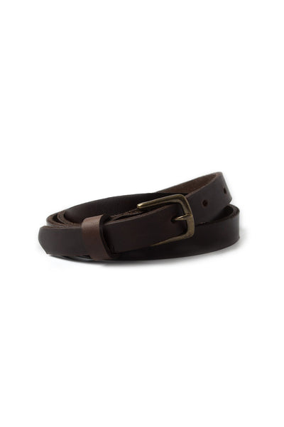 Waltzing Matilda Women's Belt - Dark Brown