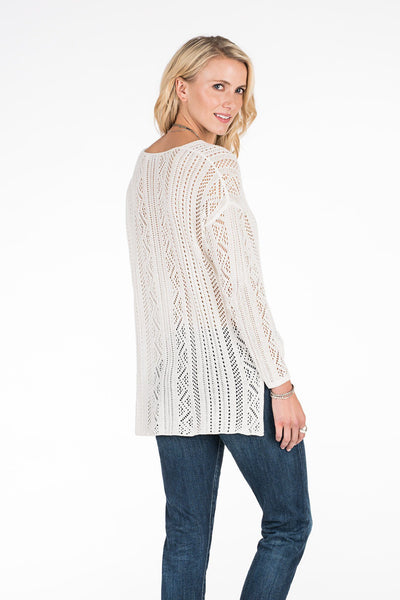 Sand Dollar Sweater - Cream