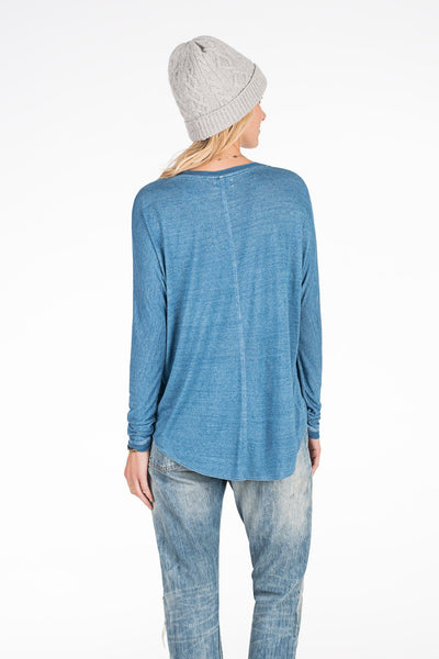 Sea Level Top - Medium Wash Indigo