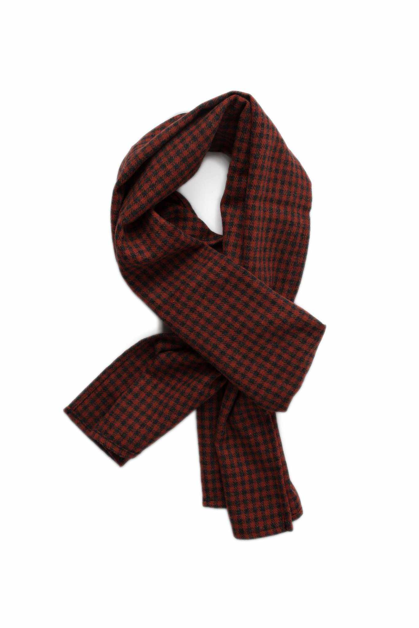 Shelter Scarf - Red Check