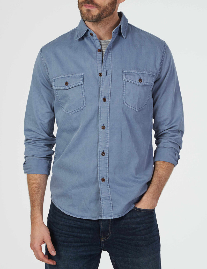 Radar Shirt - Flint Blue