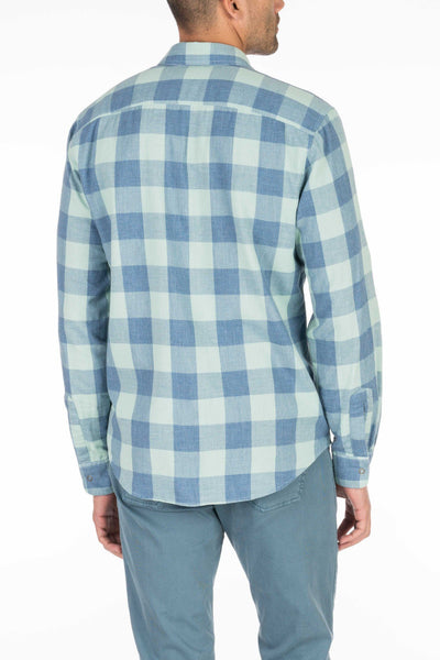 Doublecloth Shirt - Blue Buffalo Check/Chambray