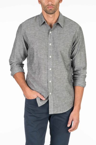 Breezecloth Shirt - Charcoal
